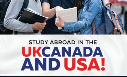 Why study abroad in the UK, Canada and the USA?